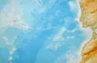 mapa açores atlantico regiao